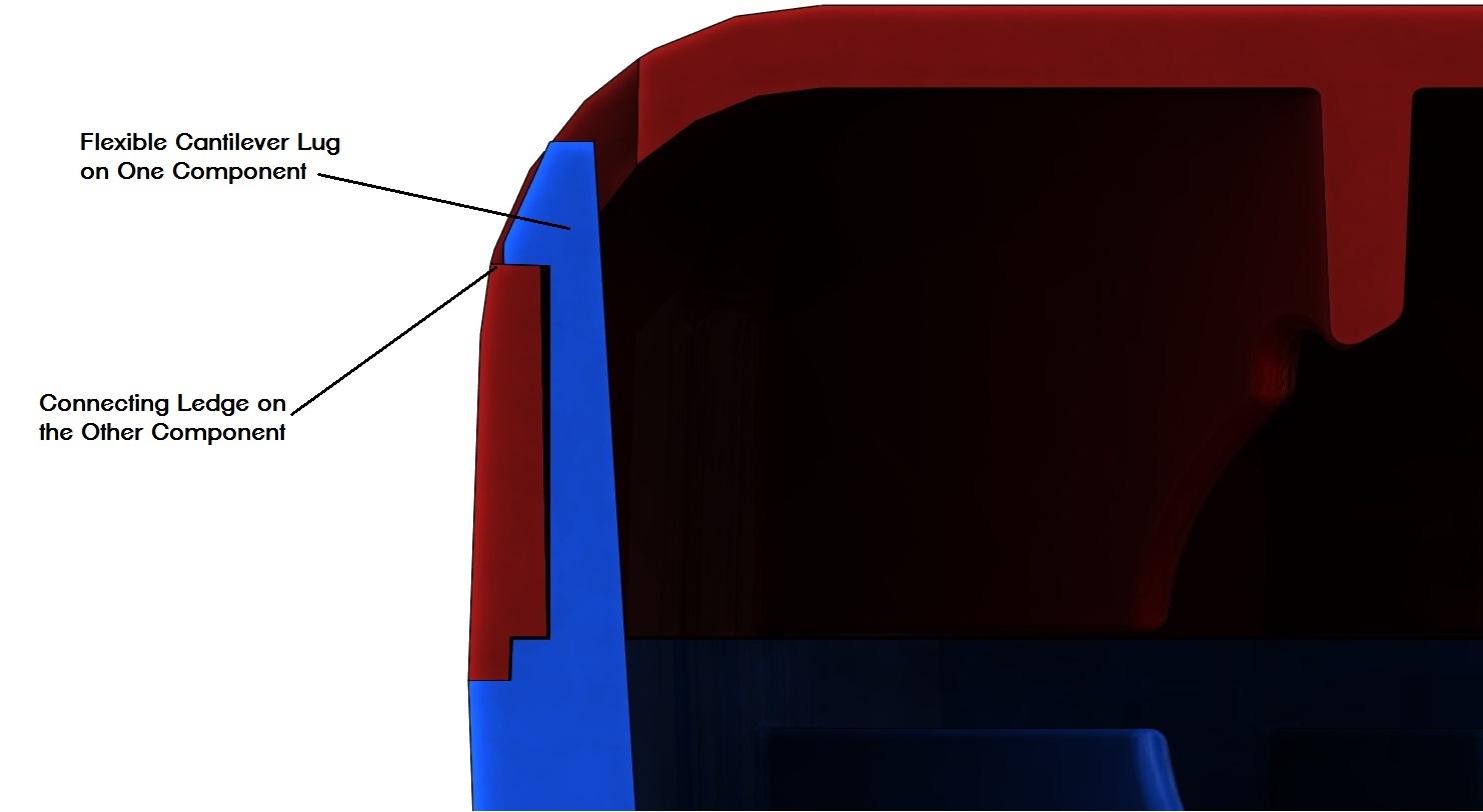DFA – Simple Mechanical Assembly Techniques for Plastic Parts